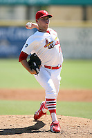 April 15, 2009:  Pitcher Nicholas (Nick) Additon (11) of the Palm Beach Cardinals, Florida State League Class-A affiliate of the St. Louis Cardinals, delivers a pitch during a game at Roger Dean Stadium in Jupiter, FL.  Photo by:  Mike Janes/Four Seam Images