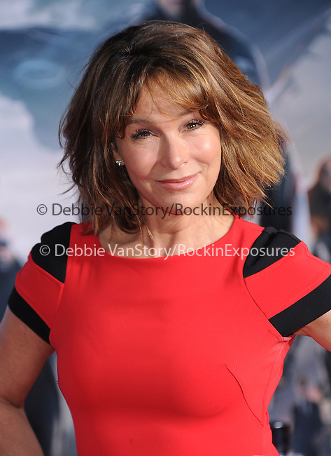 Jennifer Grey attends The Marvel World Premiere of Captain America; The Winter Soldier held at The El Capitan in Hollywood, California on March 13,2014                                                                               © 2014 Hollywood Press Agency