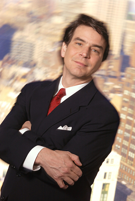 David Verklin, CEO of Carat North America, is pictured in the company's New York offices on Monday, February 2, 2004..©2004 David M. Russell. All Rights Reserved.