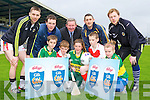 Launching the 2012 Kellogg's GAA CUL Camps in Fitzgerald Stadium on Tuesday evening was front row l-r: Mark Cooper, TJ O'Sullivan, Kate Stack, Cathal Healy, Niamh Stack. Back row: Marc O'Se, David O'Dea, Greg Aston Kellogg's, John Griffin and Brendan Kealy.