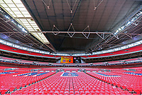 inside Wembley stadium before AFC Fylde vs Salford City, Vanarama National League Play-Off Final Football at Wembley Stadium on 11th May 2019