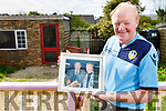 Life long Leeds United supporter Michael Fox O'Connor at home in Kevin Barry's Villa on Monday, as he reminisces about the late Leed's United player Norman Hunter