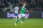 08.03.2019, Weser Stadion, Bremen, GER, 1.FBL, Werder Bremen vs FC Schalke 04, <br /> <br /> DFL REGULATIONS PROHIBIT ANY USE OF PHOTOGRAPHS AS IMAGE SEQUENCES AND/OR QUASI-VIDEO.<br /> <br />  im Bild<br /> einwechslung Fin Bartels (Werder Bremen #22) f&uuml;r Milot Rashica (Werder Bremen #11)<br /> <br /> <br /> Foto &copy; nordphoto / Kokenge