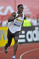 Photo: Tony Oudot/Richard Lane Photography..Aviva London Grand Prix. 24/07/2009. .Men's 200m B Final. .Christian Malcolm of GB.