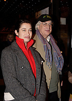 Montreal (Qc) CANADA, November 1st 2007-<br /> <br /> EMMANUELLE DEVOS, the CINEMANIA 2007 film festival<br /> Honorary President (L) together with the director Bertand Tavernier, will present the North American premiere of their film CEUX QUI RESTENT<br /> <br /> photo : Pierre Roussel (c)  Images Distribution