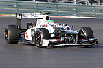 Sergio Perez (15) driver of the Sauber F1 Team in action during the Formula 1 United States Grand Prix practice session at the Circuit of the Americas race track in Austin,Texas. The Formula 1 United States Grand Prix will take place on 18 November 2012....