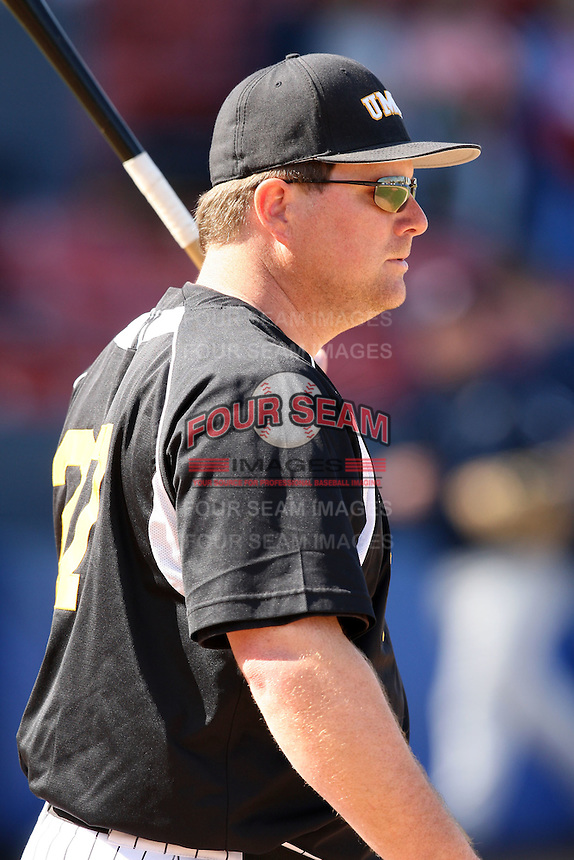March 14, 2010:  Coach John Jancuska of UMBC in a game vs. Bucknell at Chain of Lakes Stadium in Winter Haven, FL.  Photo By Mike Janes/Four Seam Images
