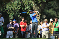 Nicolas Colsaerts (BEL) during the final day of the  Andalucía Masters at Club de Golf Valderrama, Sotogrande, Spain. .Picture Fran Caffrey www.golffile.ie