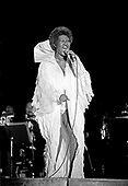 Aretha Franklin; 1983; Live<br /> Photo Credit: Janet Macoska/Atlas Icons