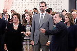 Prince Felipe of Spain and Princess Letizia of Spain attend the inauguration of 'Casa del Lector' on October 17, 2012 in Madrid, Spain..(ALTERPHOTOS/Acero)