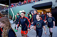 Portland, OR - Saturday May 06, 2017: Hayley Raso prior to a regular season National Women's Soccer League (NWSL) match between the Portland Thorns FC and the Chicago Red Stars at Providence Park.