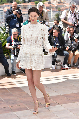 Caitriona Balfe at 'Money Men' photocell during the 69th International Cannes Film Festival, France<br /> May 12, 2016<br /> CAP/PL<br /> &copy;Phil Loftus/Capital Pictures /MediaPunch ***NORTH AMERICA AND SOUTH AMERICA ONLY***