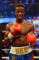 Gelasius Taaru defeats Renaldo Cajina during a Boxing Showl at York Hall on 7th October 2017