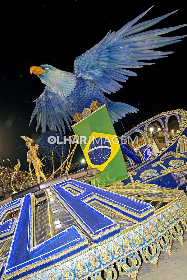 Desfile de carnaval. Portela. Rio de Janeiro. 2007. Foto de Catherine Krulik.