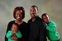 Photos of the Watson family at Visual Statements Photography Studio