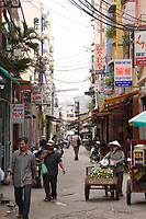 Ho Chi Minh city<br /> , Vietnam - 2007 File Photo -<br /> <br />  busy street of Ho Chi Minh, near city central. <br /> <br /> <br /> <br /> <br /> photo : James Wong-  Images Distribution