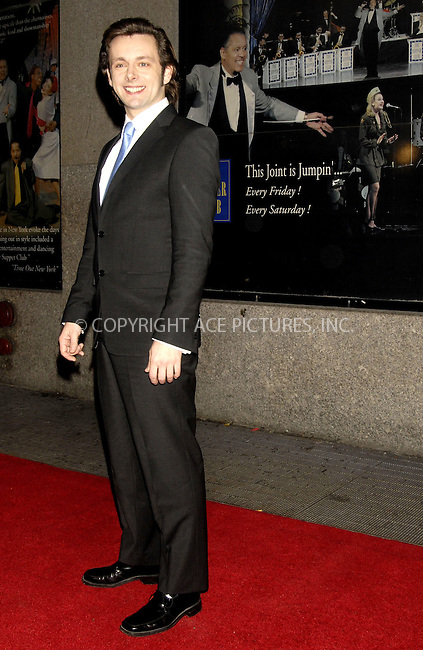 WWW.ACEPIXS.COM . . . . ....December 7, 2007, New York City....Michael Sheen attends the NY Film Critics Awards at the Supper Club.....Please byline: KRISTIN CALLAHAN - ACEPIXS.COM.. . . . . . ..Ace Pictures, Inc:  ..(212) 243-8787 or (646) 679 0430..e-mail: picturedesk@acepixs.com..web: http://www.acepixs.com