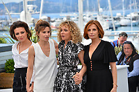 Valentina Cervi, Jasmine Trinca, Valeria Golino &amp; Isabella Ferrari at the photocall for &quot;Euforia&quot; at the 71st Festival de Cannes, Cannes, France 15 May 2018<br /> Picture: Paul Smith/Featureflash/SilverHub 0208 004 5359 sales@silverhubmedia.com