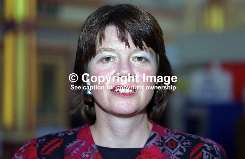 Joan Walley, MP, Labour Party, Stoke on Trent North, UK, 19901007013..© Victor Patterson, 54 Dorchester Park, Belfast, N Ireland. Tel: +44 2890661296; Mobile: +44 7802 353836; Emails: victorpatterson@me.com & victorpatterson@gmail.com; www.victorpatterson.com