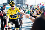 Chirs Froome (GBR) Team Sky arrives at sign on before the Tour de France Saitama Critérium 2017 held around the streets os Saitama, Japan. 4th November 2017.<br /> Picture: ASO/Pauline Ballet | Cyclefile<br /> <br /> <br /> All photos usage must carry mandatory copyright credit (© Cyclefile | ASO/Pauline Ballet)