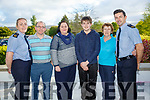 Kerry Garda Divisional community alert, Neighbourhood Watch and Text Alert meeting at Ballygarry House Hotel on Monday. Pictured Community alert text Group l-r Garda Mary Gardiner, James Brosnan, Olga Horan, Eoin Brosnan, Kit Ryan and Garda Aidan O'Mahony