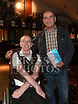 John 'Dixie' Nugent pictured at the launch of his book of poetry in The Venue at McHugh's with Martin Collins. Photo:Colin Bell/pressphotos.ie
