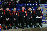 Manchester United's Louis Van Gaal looks on<br /> <br /> FA Cup - Preston North End vs Manchester United  - Deepdale - England - 16th February 2015 - Picture David Klein/Sportimage