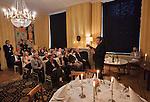 Nederland, Utrecht, 09-03-2012  Heropening Stadskasteel Paushuize . Schrijvers Maarten van Rossum (M) en Ronald Giphart.Foto: Gerard Til