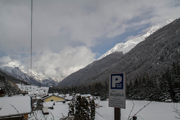 Town of St Anton, Austria, Europe 2014,