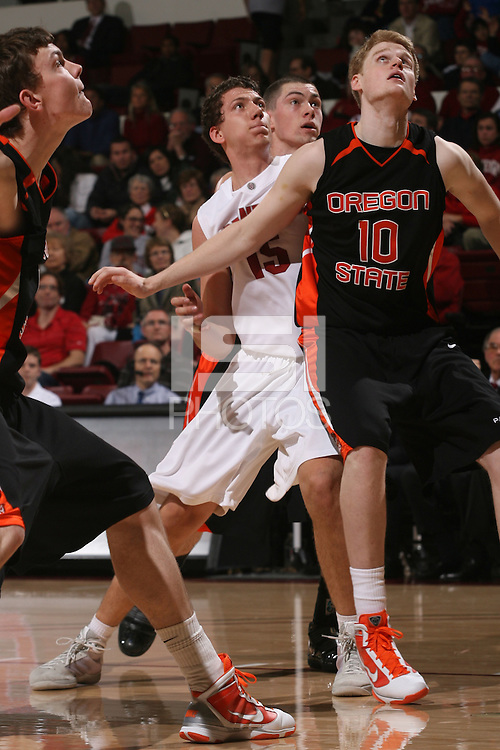 STANFORD, CA - JANUARY 21:  Matei Daian of the Stanford Cardinal during Stanford's 59-35 win over Oregon State on January 21, 2010 at Maples Pavilion in Stanford, California.
