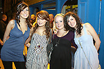 Sinead Smith, Grainne McManamon, Vicky Ryan and Judith Mulligan enjoying a night out in Shooters...Photo NEWSFILE/Jenny Matthews.(Photo credit should read Jenny Matthews/NEWSFILE)....This Picture has been sent you under the condtions enclosed by:.Newsfile Ltd..The Studio,.Millmount Abbey,.Drogheda,.Co Meath..Ireland..Tel: +353(0)41-9871240.Fax: +353(0)41-9871260.GSM: +353(0)86-2500958.email: pictures@newsfile.ie.www.newsfile.ie.FTP: 193.120.102.198.