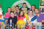 .GREEN TEAM: Members of the Knocknasna National School Green Team that were presented with their first Green Flag at the weekend..Front L/r. Kerry Lee Doyle, Brian O'Connor, Shauna Cahill, Megan Meehan, Niamh Healy..Back L/r. Patrick Morrissey, Daire Horgan and Kathryn Kennelly   Copyright Kerry's Eye 2008