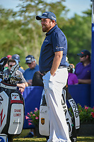 Shane Lowry (IRL) looks over his tee shot on 1 during Round 3 of the Zurich Classic of New Orl, TPC Louisiana, Avondale, Louisiana, USA. 4/28/2018.<br /> Picture: Golffile | Ken Murray<br /> <br /> <br /> All photo usage must carry mandatory copyright credit (&copy; Golffile | Ken Murray)