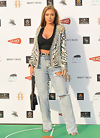 """LONDON, ENGLAND - JULY 22: Tyne-Lexy Clarson at the """"Break"""" first ever UK Drive-In film premiere, Stadium Car Park off Brent Cross Shopping Centre, Stadium Road, on Wednesday 22 July 2020 in London, England, UK. <br /> CAP/CAN<br /> ©CAN/Capital Pictures"""