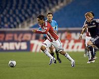 Chivas USA midfielder Jesus Padilla (10) accelerates at midfield. Chivas USA defeated the New England Revolution, 4-0, at Gillette Stadium on May 5, 2010.