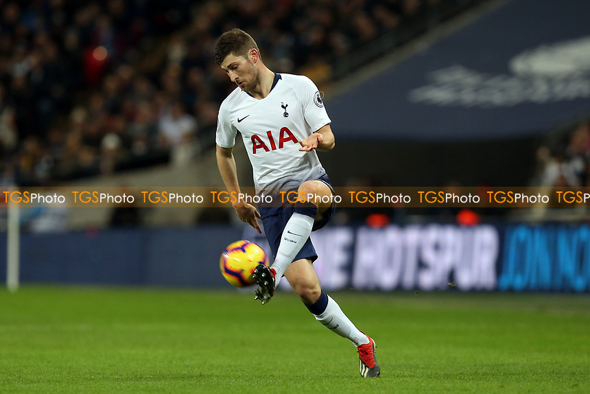 Ben Davies of Tottenham Hotspur during Tottenham Hotspur vs Manchester United, Premier League Football at Wembley Stadium on 13th January 2019