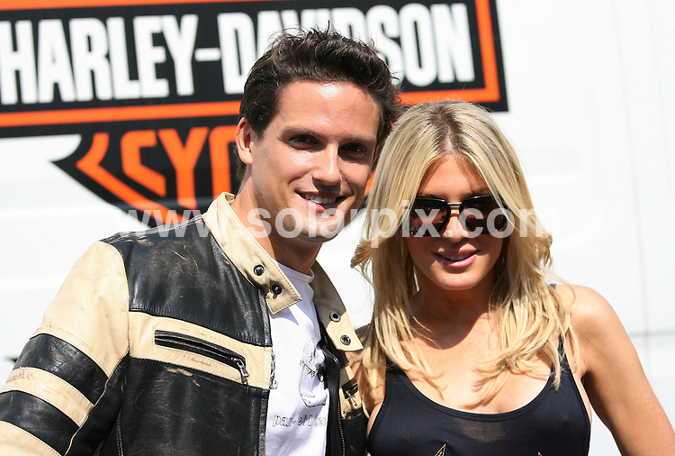 **ALL ROUND PICTURES FROM SOLARPIX.COM**.**WORLDWIDE SYNDICATION RIGHTS**.The Harley Davidson Charity Bike Ride at Warr's Harley Davidson Store in Kings Road, London, UK. 9 August 2009.This pic: Stephen Bowman and Hofit Golan..JOB REF: 9723 LNJ     DATE: 09_08_2009.**MUST CREDIT SOLARPIX.COM OR DOUBLE FEE WILL BE CHARGED**.**MUST NOTIFY SOLARPIX OF ONLINE USAGE**.**CALL US ON: +34 952 811 768 or LOW RATE FROM UK 0844 617 7637**
