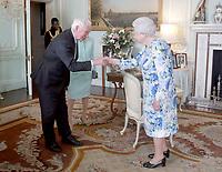 Queen Elizabeth II Meets with Governor-General of Canada David Johnston