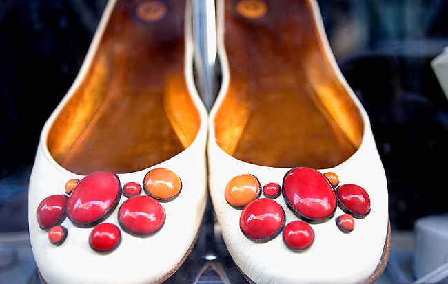 Shoes for Sale, Ina, Upper East Side, New York, New York