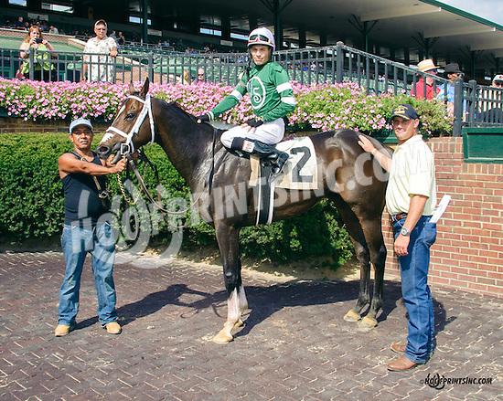 Et Al winning at Delaware Park on 9/19/15