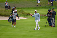 Brooks Koepka (USA) after pitching up tight on 3 during round 4 of the 2019 US Open, Pebble Beach Golf Links, Monterrey, California, USA. 6/16/2019.<br /> Picture: Golffile | Ken Murray<br /> <br /> All photo usage must carry mandatory copyright credit (© Golffile | Ken Murray)