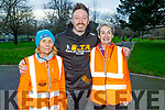 Carmel Foran, Tom Dillon and Noreen Quirke taking part in the last Born to Run 5k run in the Tralee Town park on Saturday.