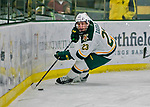 21 November 2017: University of Vermont Catamount forward Rob Darrar in second period action against the University of Connecticut Huskies at Gutterson Fieldhouse in Burlington, Vermont. The Huskies defeated the Catamounts 4-1 in Hockey East play. Mandatory Credit: Ed Wolfstein Photo *** RAW (NEF) Image File Available ***