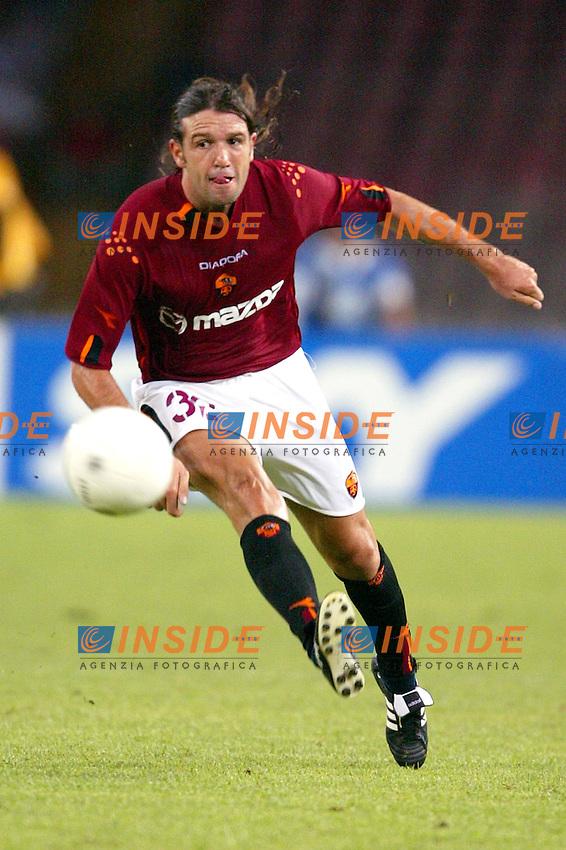Napoli 27/8/2003 <br /> Napoli Roma 1-3 <br /> Vincent Candela (AS Roma)<br /> Photo Andrea Staccioli Insidefoto
