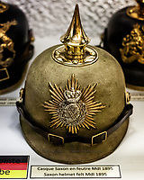 German First World War Saxon Helmet<br />