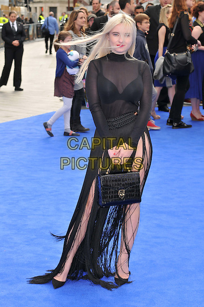 LONDON, ENGLAND - MAY 17: Grace Chatto attends the &quot;Tomorrowland: A World Beyond&quot; UK film premiere, Odeon Leicester Square cinema, Leicester Square, on Sunday May 17, 2015 in London, England, UK. <br /> CAP/CAN<br /> &copy;CAN/Capital Pictures