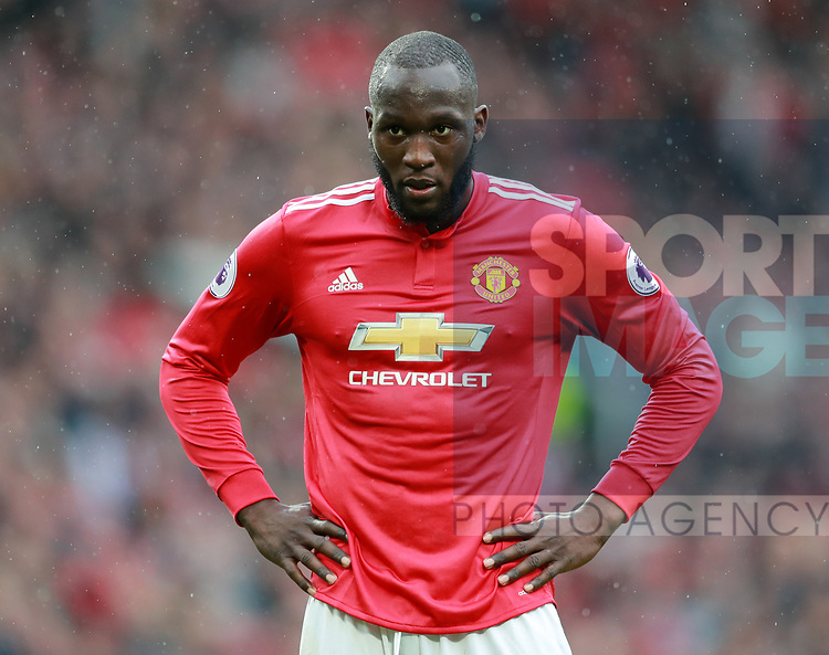 Romelu Lukaku of Manchester United during the premier league match at the Old Trafford Stadium, Manchester. Picture date 15th April 2018. Picture credit should read: Simon Bellis/Sportimage