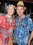 Eimear Davis celebrating her 50th birthday in Sarsfields with husband Sean Brady. Photo:Colin Bell/pressphotos.ie