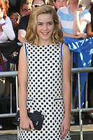 Kiernan Shipka arrives at Los Angeles premiere of 'The Odd Life Of Timothy Green' at the El Capitan Theatre on August 6, 2012 in Hollywood, California MPI28 / Medapunchinc /NortePhoto.com<br />