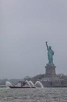 Nova York (EUA), 28/05/2019 - Turismo / Estados Unidos - Vista da Estatua da Liberdade em Nova York nos Estados Unidos nesta terça-feira, 28. (Foto: William Volcov/Brazil Photo Press/Agencia O Globo) Mundo